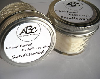 Scented Soy Candle - Sandlewood