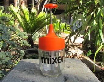 Gemco Mixer Retro 1970s Orange