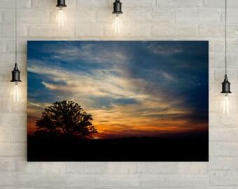 Sunset Canvas Art, wall art canvas, canvas print, nature art, nature photography, nature prints