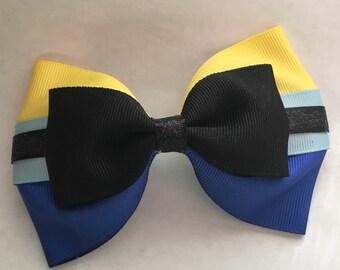 Dory inspired tuxedo bow