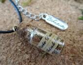 Pixie Dust Bottle Necklac...