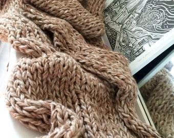 Chunky Knit Throw Rug