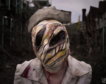 silent hill inspired nurse mask MADE TO ORDER