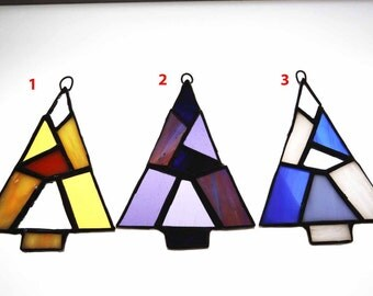 Stained Glass Tree Suncatcher/Ornaments