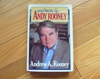 and more by Andy Rooney (1982) - hardcover book with dust jacket, and miscellaneous newspaper and magazine clippings - offered by MtnGlen