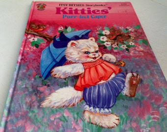Kitties' Purr-fect Caper - Itsy-Bitsies Storybook - 1990