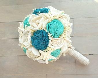 Beach Wedding Bouquet, Starfish Bouquet, Nautical Wedding