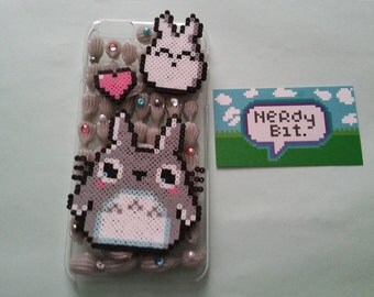 Ready to Ship Totoro iPhone 6 Plus Decoden Phone Case