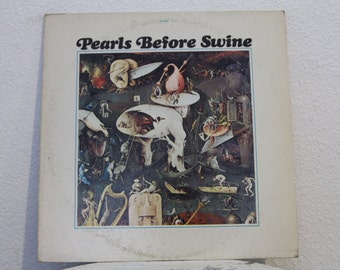 "Set of 2 Pearls Before Swine Albums - ""One Nation Underground"" and ""These Things Too"" vinyl records"