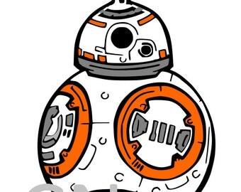 BB8 Star Wars SVG