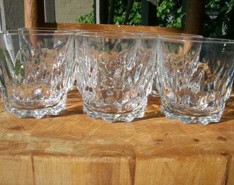 Arcoroc France Artic Old Fashioned Glass set of 6