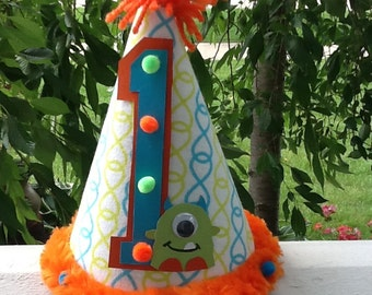 Little Monster Party Hat