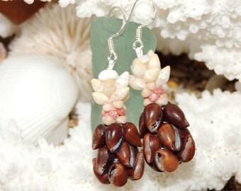 Poleho, Laiki & Kahelelani pineapple earrings