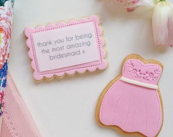 bridesmaid thank you gift, flower girl thank you, bridesmaid gift, best bridesmaid, maid of honour thank you, matron of honour gift