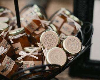 rustic favors rustic jam wedding favors 150 15oz personalized jam favors
