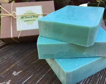 The SEXIEST MAN Alive- Handmade, Natural VETIVER Soap- Gift For Him-Redy Gift Box- spa Uptown
