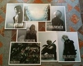Final Fantasy VII Collectible Postcards 5x7 Art Cards Sleeves Prints Christmas Gift Stocking Stuffer featured image