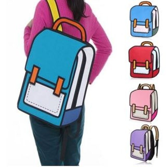 back pack book bag 3d bag back to school cartoon book bag school backpack blue book bag book bags for girls book bags for boys