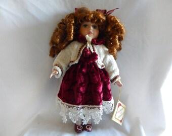 Vintage Collectors Choice Porcelain Doll by Dan Dee