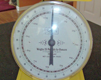Vintage SEARS Family Scale