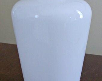 Vintage White Glass Shade/Globe