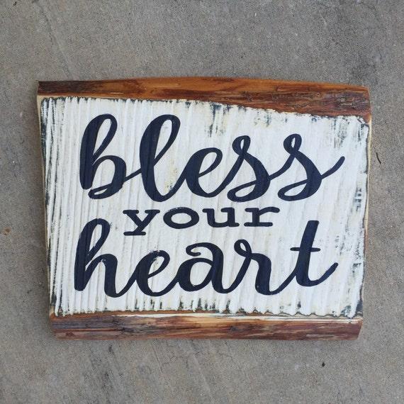 Bless your heart Louisiana art Cajun wall art southern