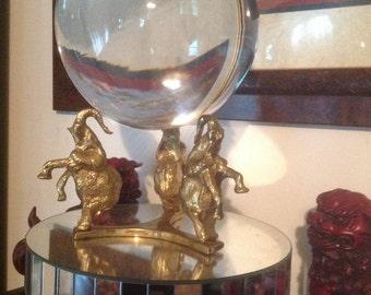 Elephants crystal ball/ sphere stand