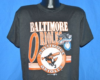 90s Baltimore Orioles Baseball Black t-shirt Large