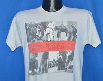 80s 10,000 Maniacs Blind Man's Zoo Concert Tour t-shirt Medium