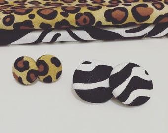 Animalier cotton Earrings