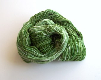 Hand dyed superwash merino dk weight, handpainted superwash merino yarn, 300 yds.