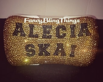Personalized Crystal Baby Wipe Case