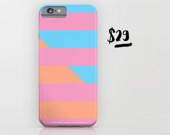 Neon Stripes Phone Case