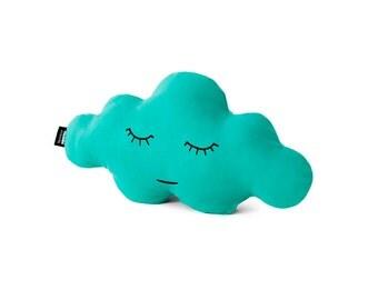 Cloud S Jade Green Cushion