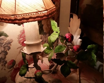 Vintage Tole Wall Sconce