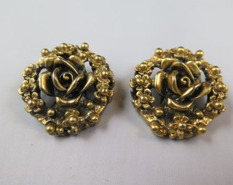 Tortolani Rose Earrings