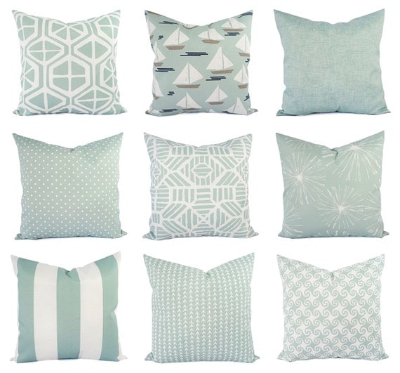 Light Blue Throw Pillow Covers : Light Blue Pillow Cover Outdoor Throw Pillow Decorative