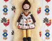 "Mini Madchen Handmade Cloth Doll 22"""
