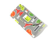 Ready to Ship - Womens Wallet - Geeky Wallet - Beakers Wallet - Foldover Clutch - Wallet - Fabric Wallet - Gift for Her - Birthday Gift