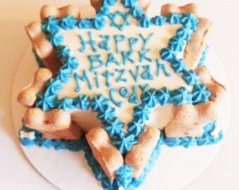 BARK-Mitzvah dog cake