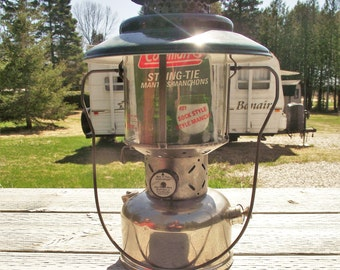 COLEMAN LANTERN 1949 228B,Vintage Camping Lantern,Naptha Gas Lantern,Antique Lantern for Camping,Non Electric Lantern,White Gas Lantern