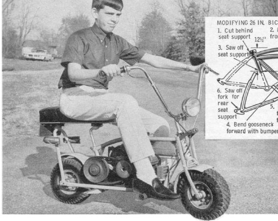 1 Vintage Mini Bike Plans How To Build A Mini Bike