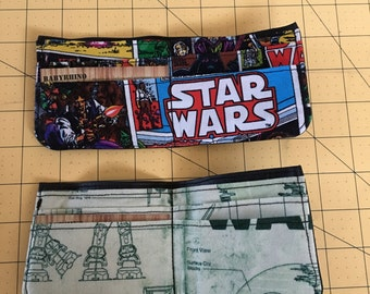 Star Wars billfold with card slots