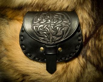 Leather Sporran Kilt Belt Pouch