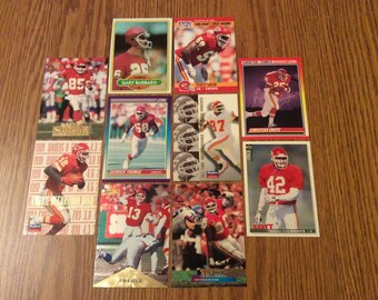 50 Kansas City Chiefs Football Cards