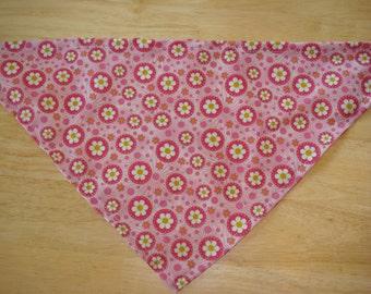 Pink Daisies Bandana