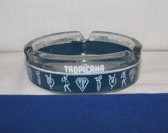 TROPICANA ASHTRAY Vintage Las Vegas Souvenir