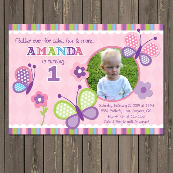 butterfly birthday invitations – frenchkitten, Birthday invitations