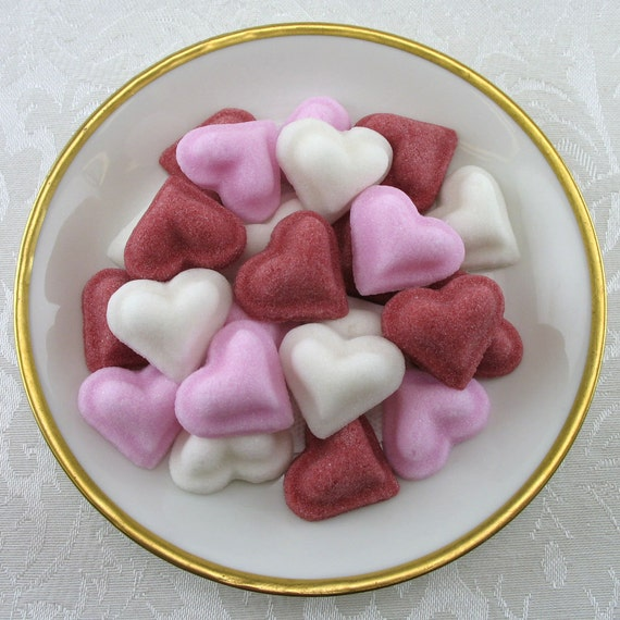 how to make heart shaped sugar cubes
