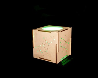 Laser Cut Constellation Votives